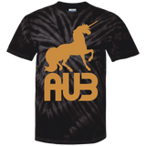 T-shirt Tie & Dye Homme - Antic Gold Unicorn