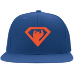 Casquette Snapback Brodée - Orange Super Bear