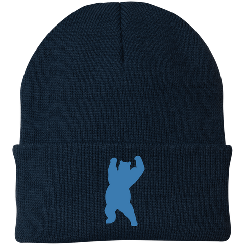 Bonnet Brodé - California Blue Dancing Bear
