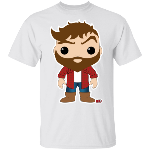 T-Shirt Classique Homme - Funky Brown Lumberjack