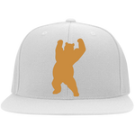 Casquette Snapback Brodée - Antic Gold Dancing Bear