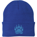 Bonnet Brodé - California Blue Bear Paw