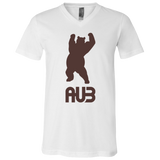 T-Shirt col V Unisexe - Brown Dancing Bear