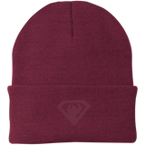 Bonnet Brodé - Maroon Super Bear