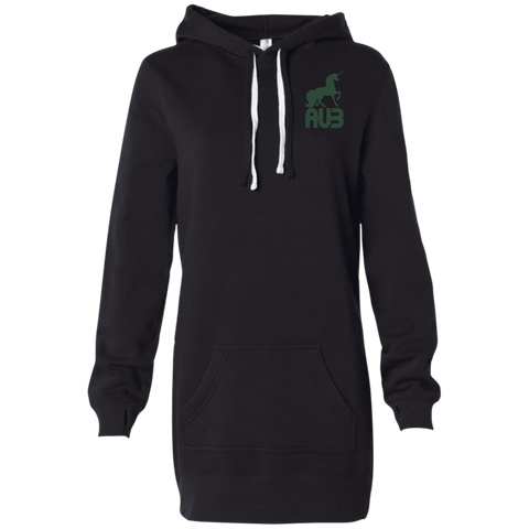 Robe Sweatshirt Brodée - Forest Green Unicorn