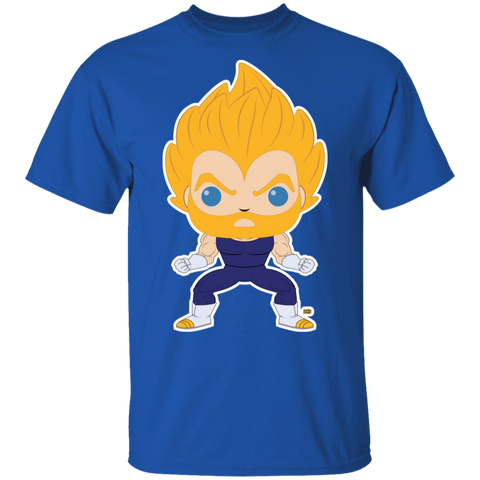 T-Shirt Classique Homme - Funky Bearded SS Vegeta