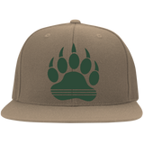 Casquette Snapback Brodée - Forest Green Bear Paw