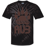 T-shirt Tie & Dye Homme - Brown Bear Paw