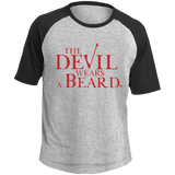 T-shirt Raglan Homme - The Devil Wears a Beard