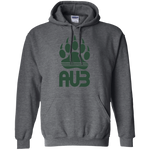 Sweat à capuche Unisexe - Forest Green Bear Paw