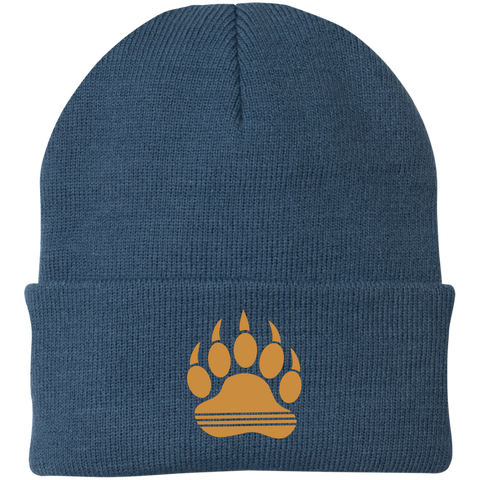 Bonnet Brodé - Antic Gold Bear Paw