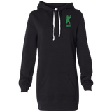 Robe Sweatshirt Brodée - Kelly Green Dancing Bear