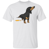 T-Shirt Classique Homme - Origami Dachshund