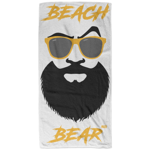 Serviette de plage - Gold Beach Bear