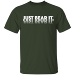 T-Shirt Classique Homme - White Just Bear It