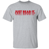 T-Shirt Classique Homme - Red Just Bear It