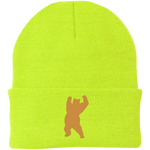 Bonnet Brodé - Antic Gold Dancing Bear