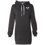 Robe Sweatshirt Brodée - Forest Green Super AUB