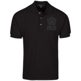 Polo Homme Brodé - Black Bear Paw