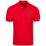 Polo Homme Brodé - Red Bear Paw