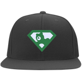 Casquette Snapback Brodée - Kelly Green Super AUB