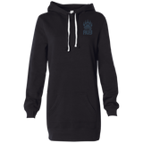 Robe Sweatshirt Brodée - Navy Blue Bear Paw