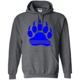 Sweat à capuche Unisexe - Blue Bear Paw