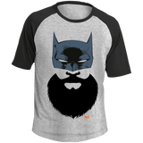 T-shirt Raglan Homme - Bat Beard