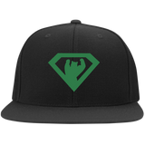 Casquette Snapback Brodée - Kelly Green Super Bear