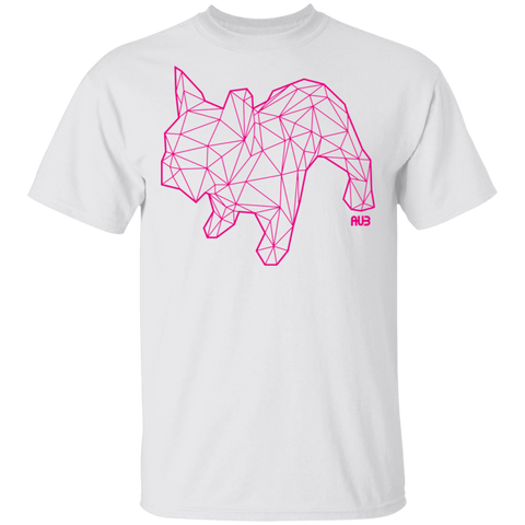 T-Shirt Classique Homme - Pink Origami French Bulldog II
