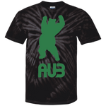 T-shirt Tie & Dye Homme - Kelly Green Dancing Bear
