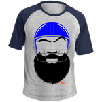 T-shirt Raglan Homme - Football Beard