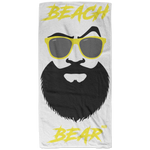 Serviette de plage - Yellow Beach Bear
