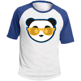 T-shirt Raglan Homme - Athletic Gold Beach Panda
