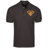 Polo Homme Brodé - Antic Gold Super Bear