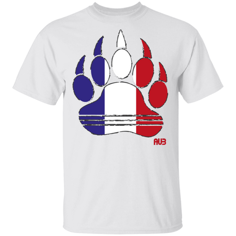 T-Shirt Classique Homme - French Bear Paw