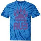 T-shirt Tie & Dye Homme - Purple Bear Paw