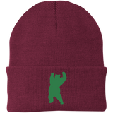 Bonnet Brodé - Kelly Green Dancing Bear