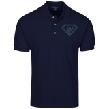 Polo Homme Brodé - Navy Blue Super Bear