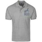 Polo Homme Brodé - Grey Unicorn
