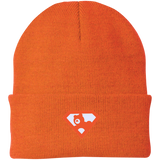 Bonnet Unisexe Brodé - Orange Super AUB