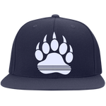 Casquette Snapback Brodée - White Bear Paw