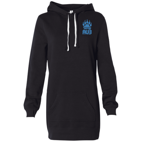 Robe Sweatshirt Brodée - California Blue Bear Paw