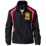 Veste Colorblock Homme Brodée - Athletic Gold Bear Paw