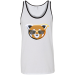 Débardeur Unisexe - Stuffed Bear Rainbow Beach Red Panda