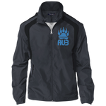 Veste Colorblock Homme Brodée - California Blue Bear Paw