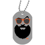 Collier Dog Tag - Orange Beach Beard