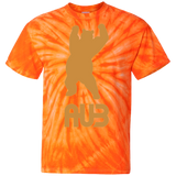 T-shirt Tie & Dye Homme - Antic Gold Dancing Bear