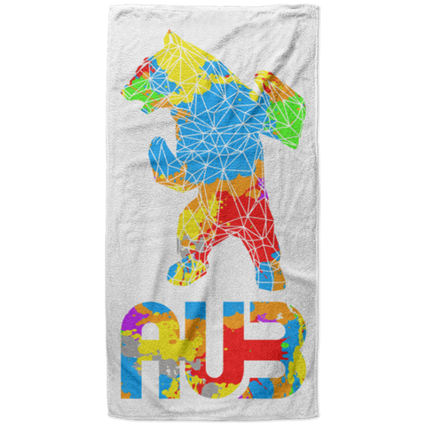 Serviette de plage King Size - Origami Splash