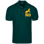 Polo Homme Brodé - Athletic Gold Unicorn